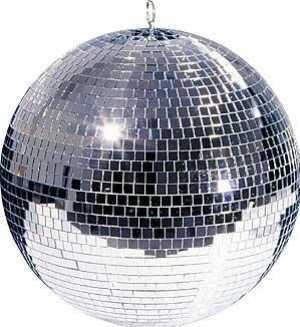 Mirror Ball, Spotlight & Motor $55 incl gst