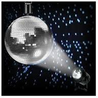 Mirror Ball & spotlight 16