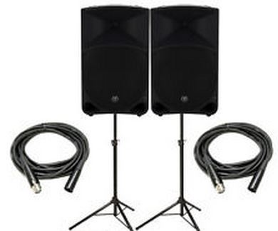 Powered PA System
