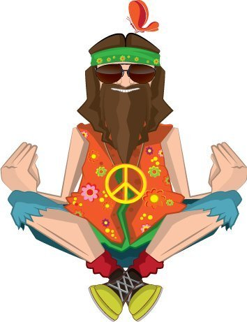 Hippy Theme backdrop
