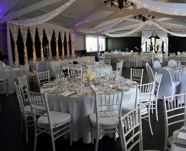 Decorations at Wedding event venue