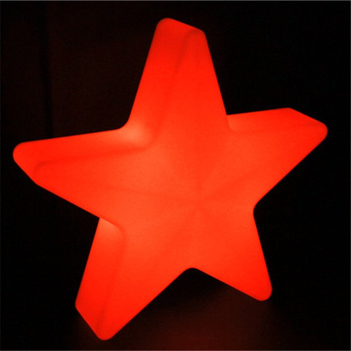 Star shaped led light
