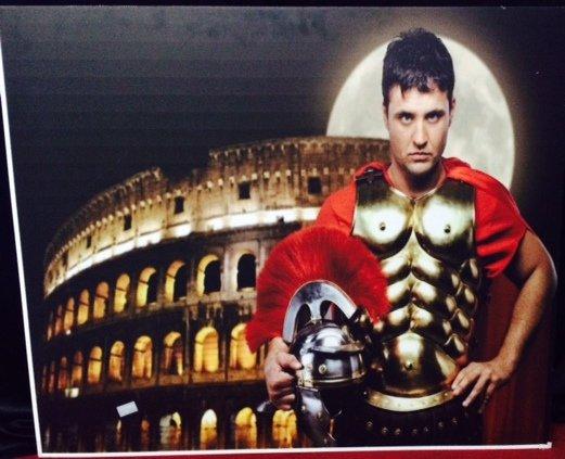Backdrop Roman Right