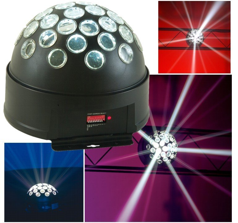 Starball led light can be suspended from ceiling or placed on table $50 incl gst