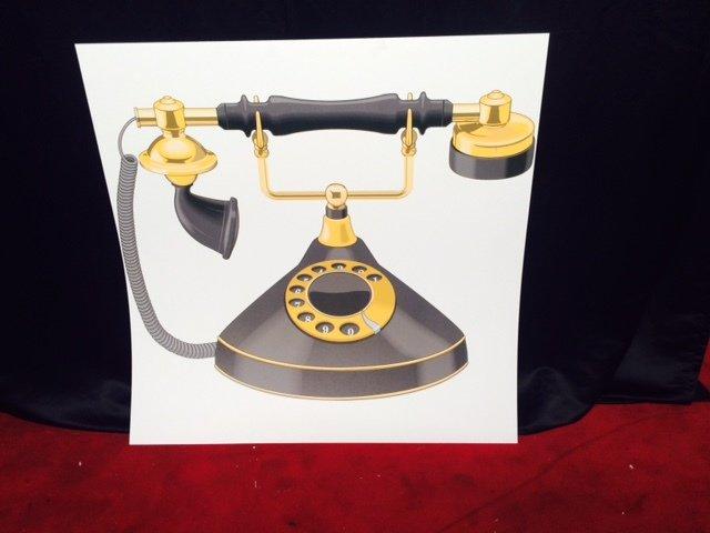 Prop 1920s Telephone 1.2m x 1.2m $25 incl gst