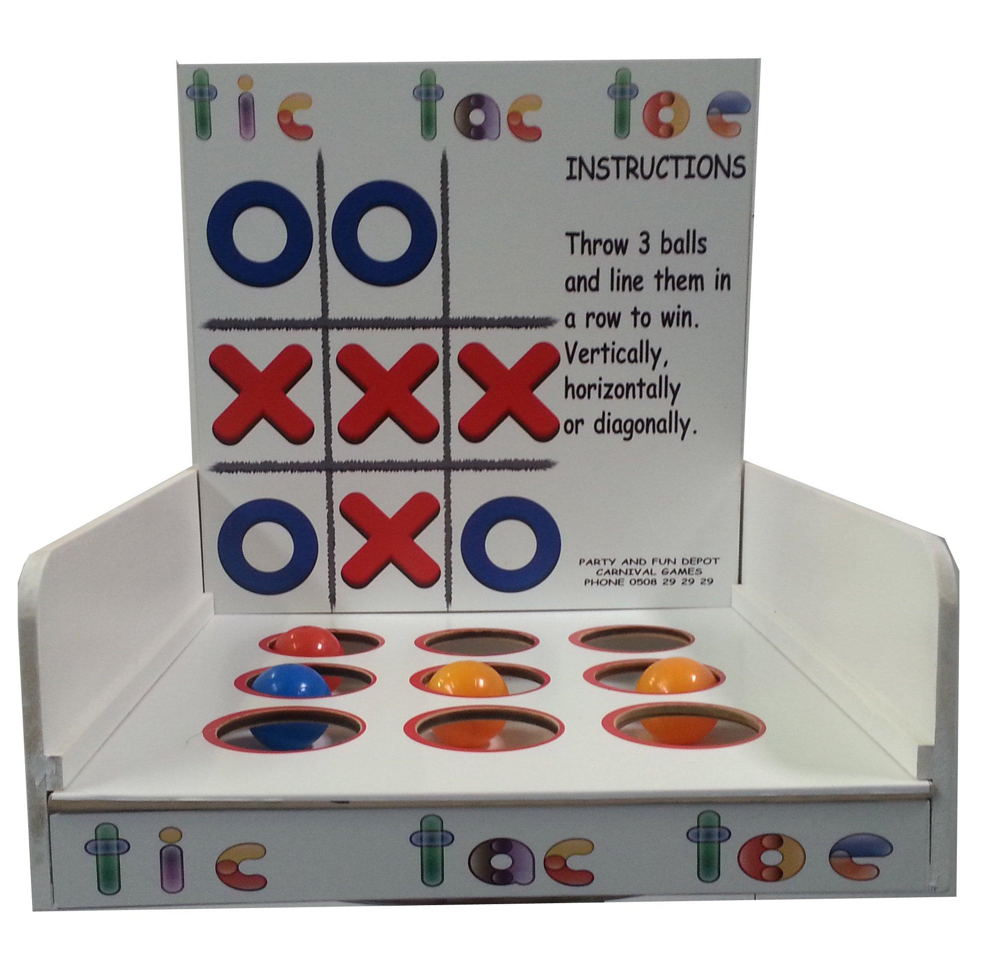Carnival Games Tic Tac Toe $30 incl gst