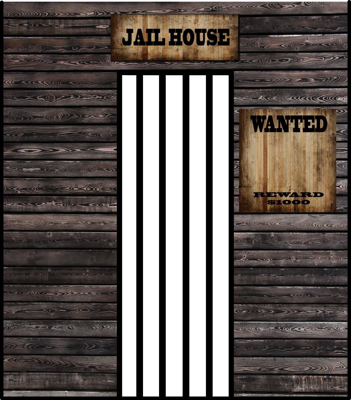 Prop Prop Western Jail House 2.4m x 2.1m $100