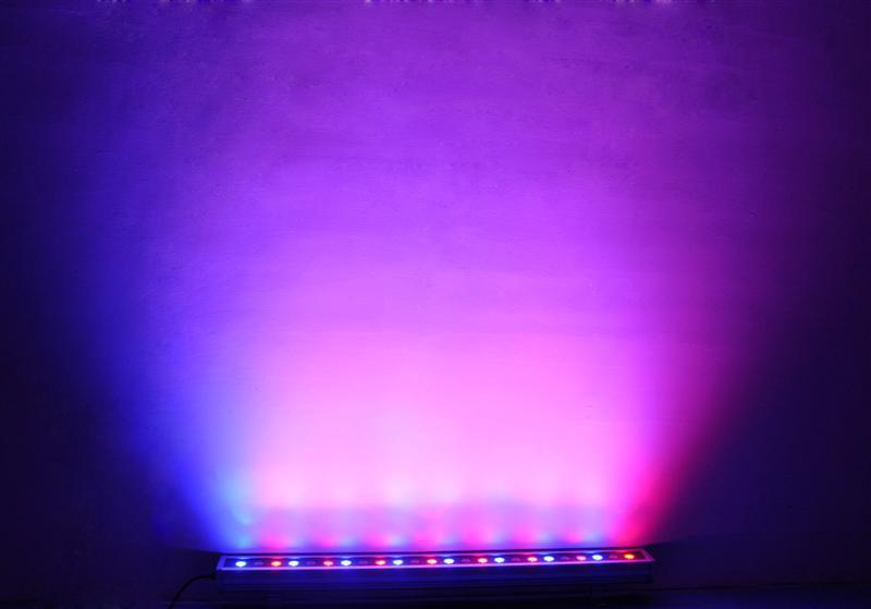 Wall Wash Lights 1.2m, Various colour settings & can fade or flash through colours $50 each incl gst