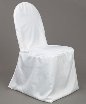 Banquet Style Chair Cover White $5.00 incl gst