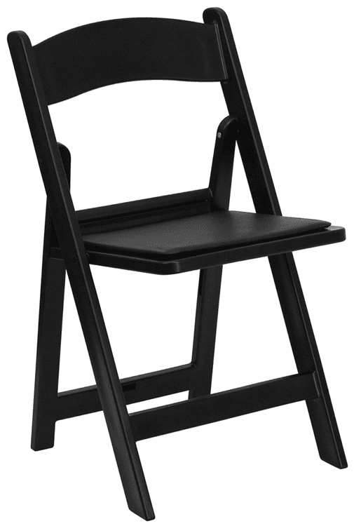 Black Folding chair $3.65 incl gst