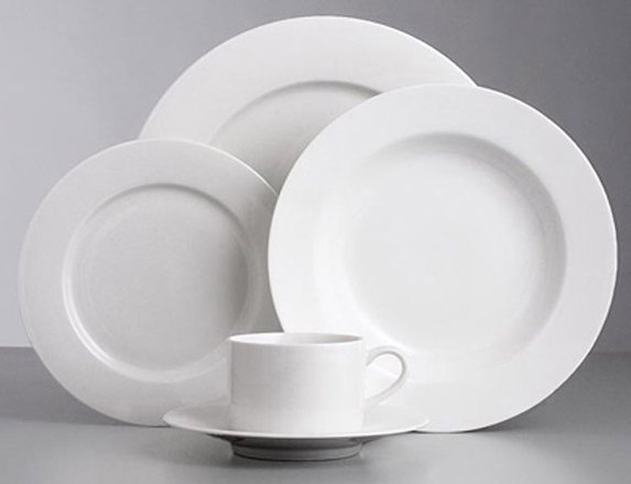 Side plate, dinner plate, soup bowl cup & saucer $0.70 each incl gst
