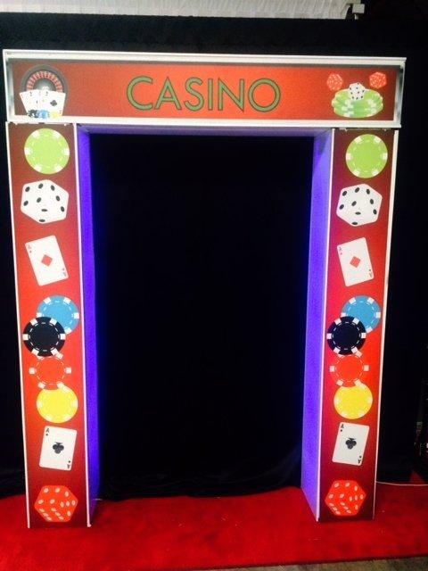 Casino Theme backdrop
