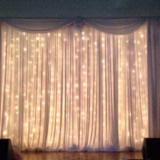 Golden Fairy light decoration