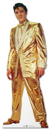 Prop Cutout Elvis Presley 1.8m x 0.5m $25 incl stand and gst