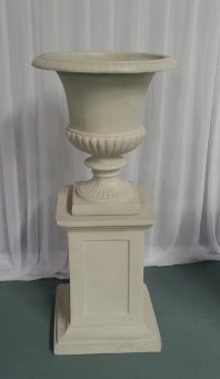 Stonewash Plinth and Urn