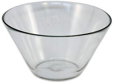 Glass Serving Bowl $3.50 incl gst