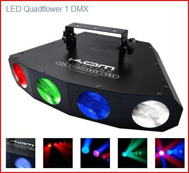 Quadflower led light