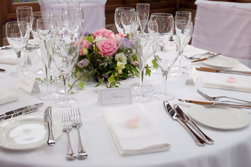 tableware pieces for your wedding in Auckland
