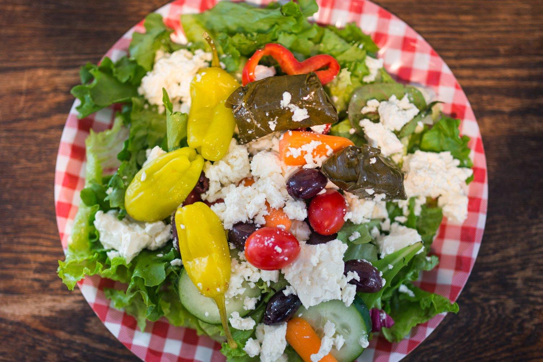 Bentley's Roast Beef greek salad