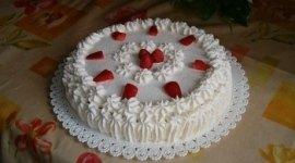 torte alla panna, torte alla frutta, torta con fragole