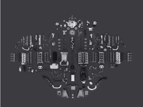 Ricambi per macchine industriali