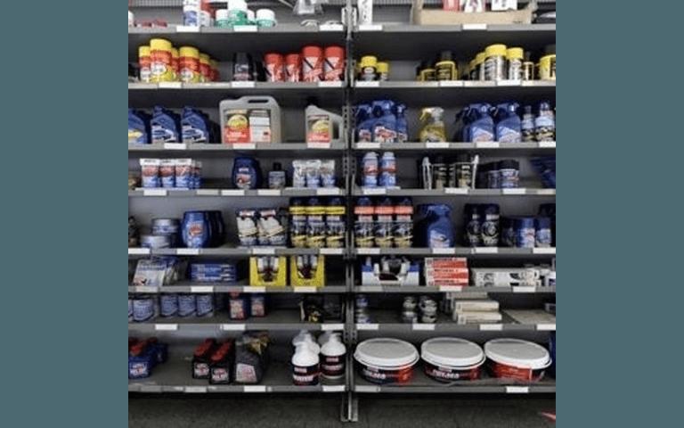 Il vasto assortimento di prodotti per la cura dell