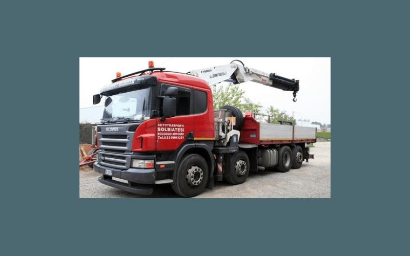 attrezzature per la movimentazione di merci va