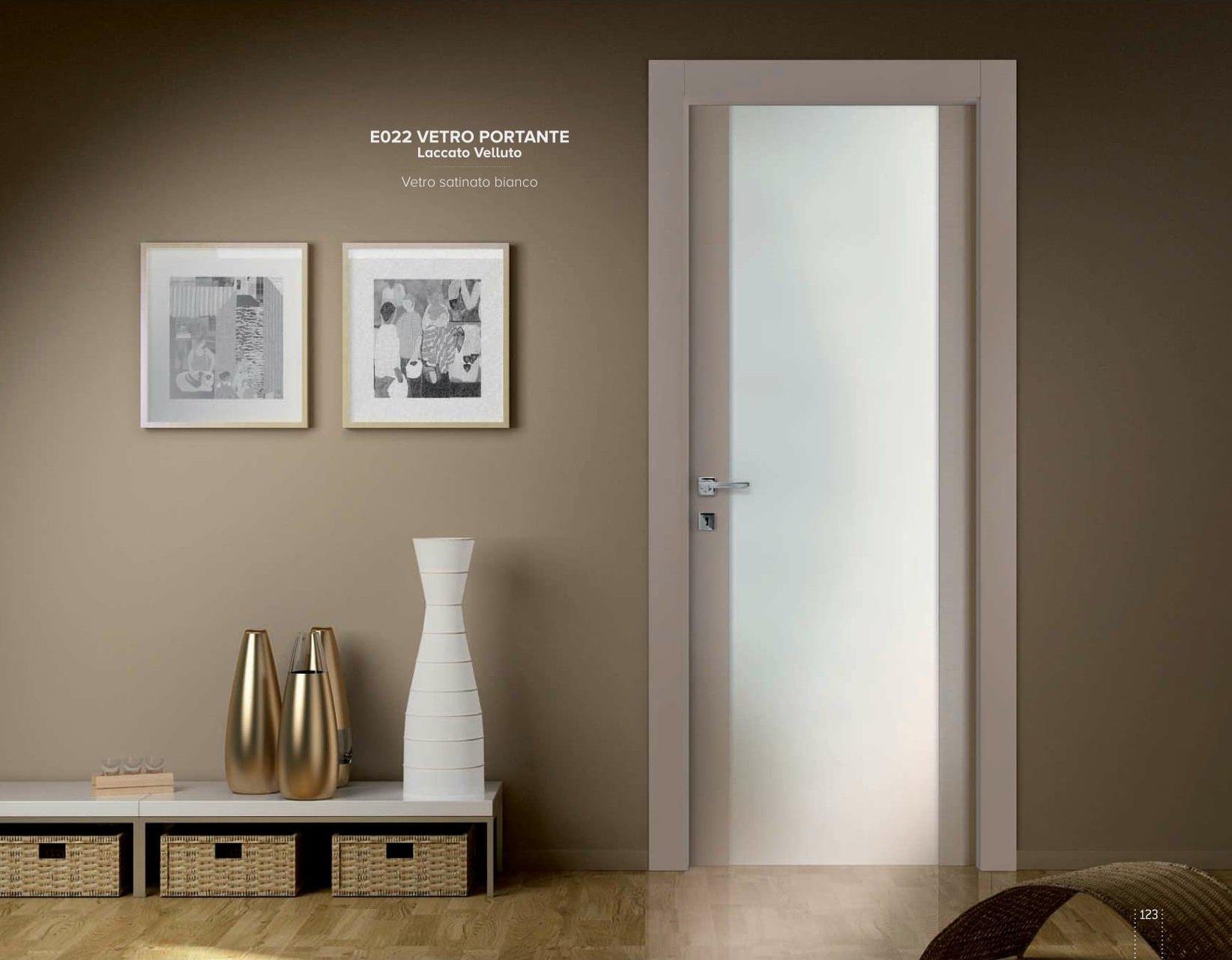 porta vetro in appartamento