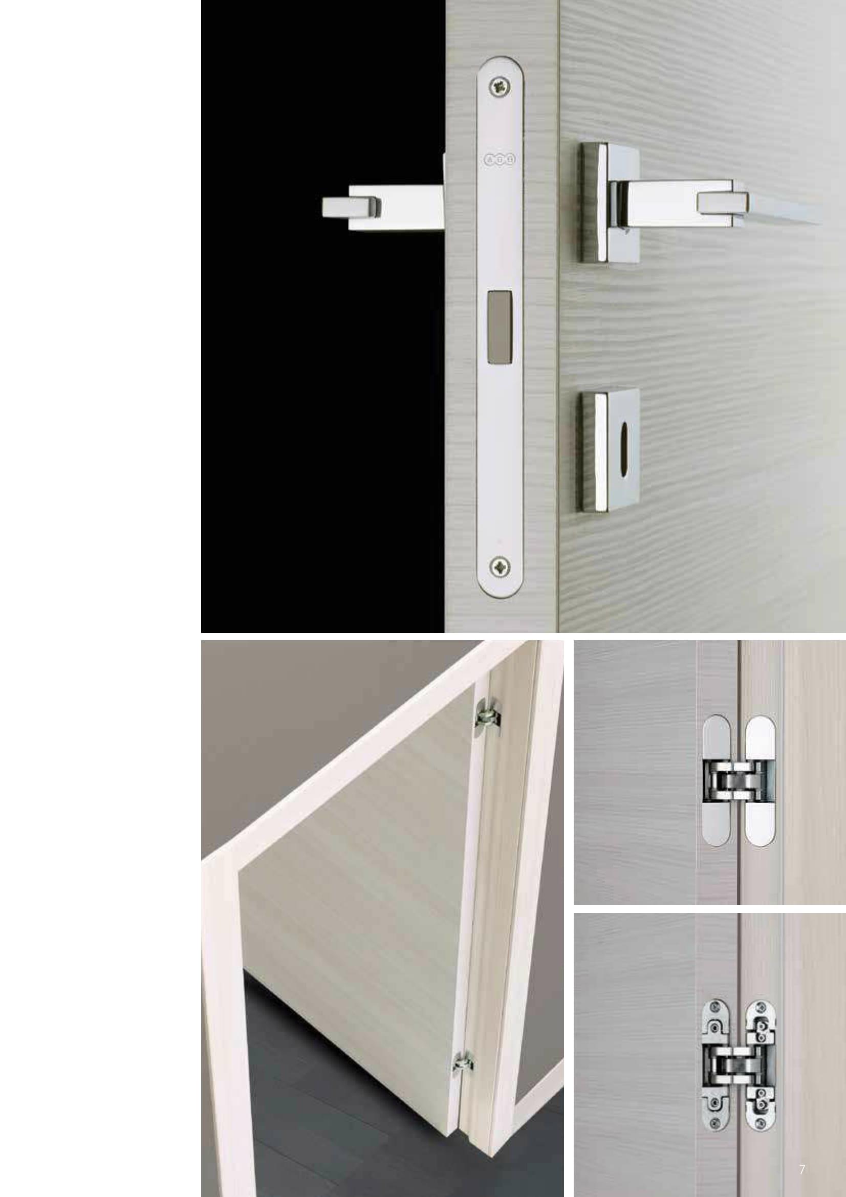 dettagli maniglia porte