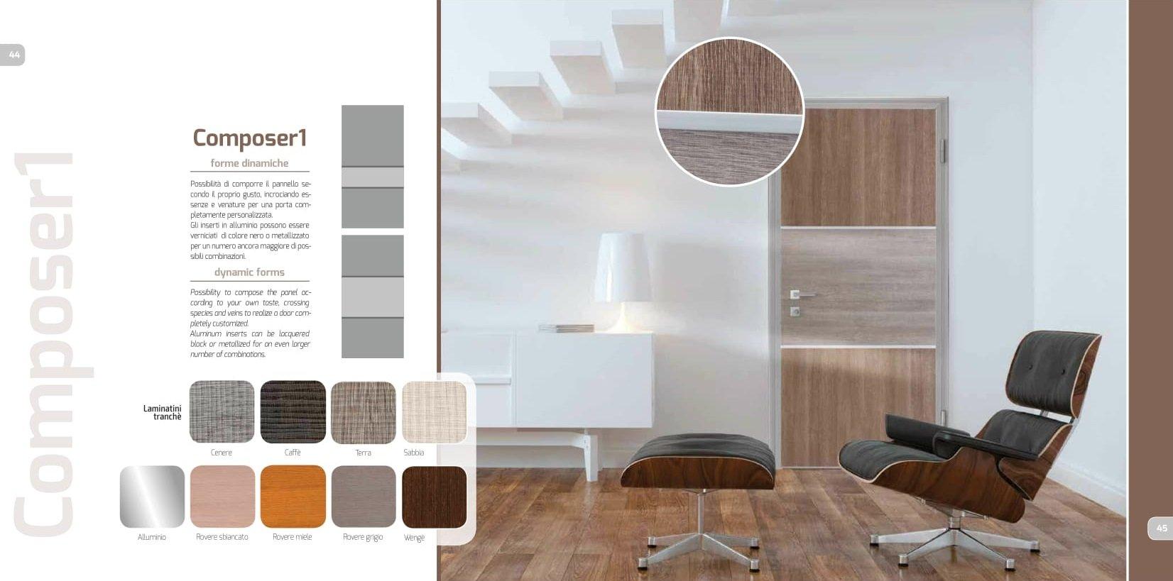 interno appartamento con scala