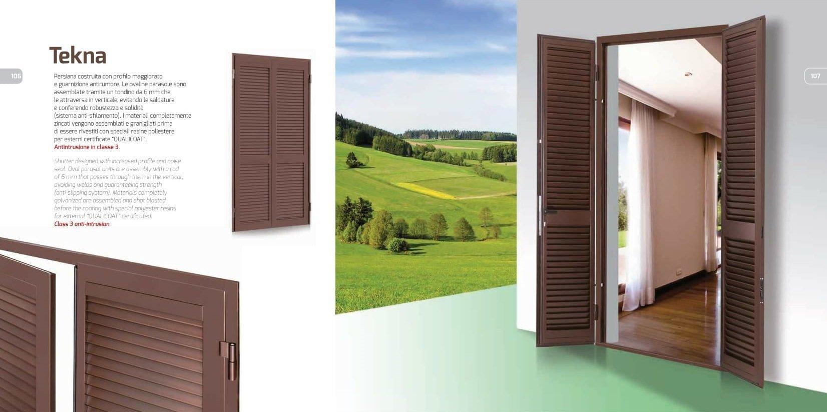 brochure porta legno