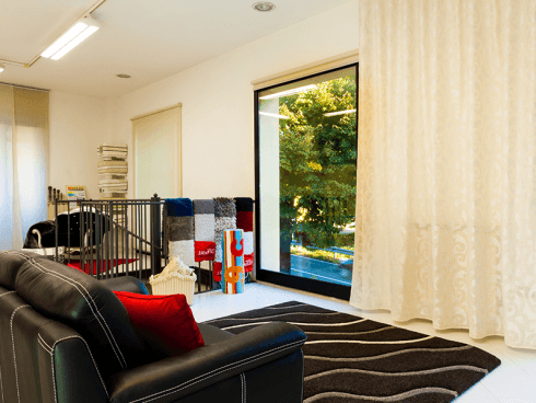 centro tessuti, tappezzeria, tappeti moderni, tendaggi su misura