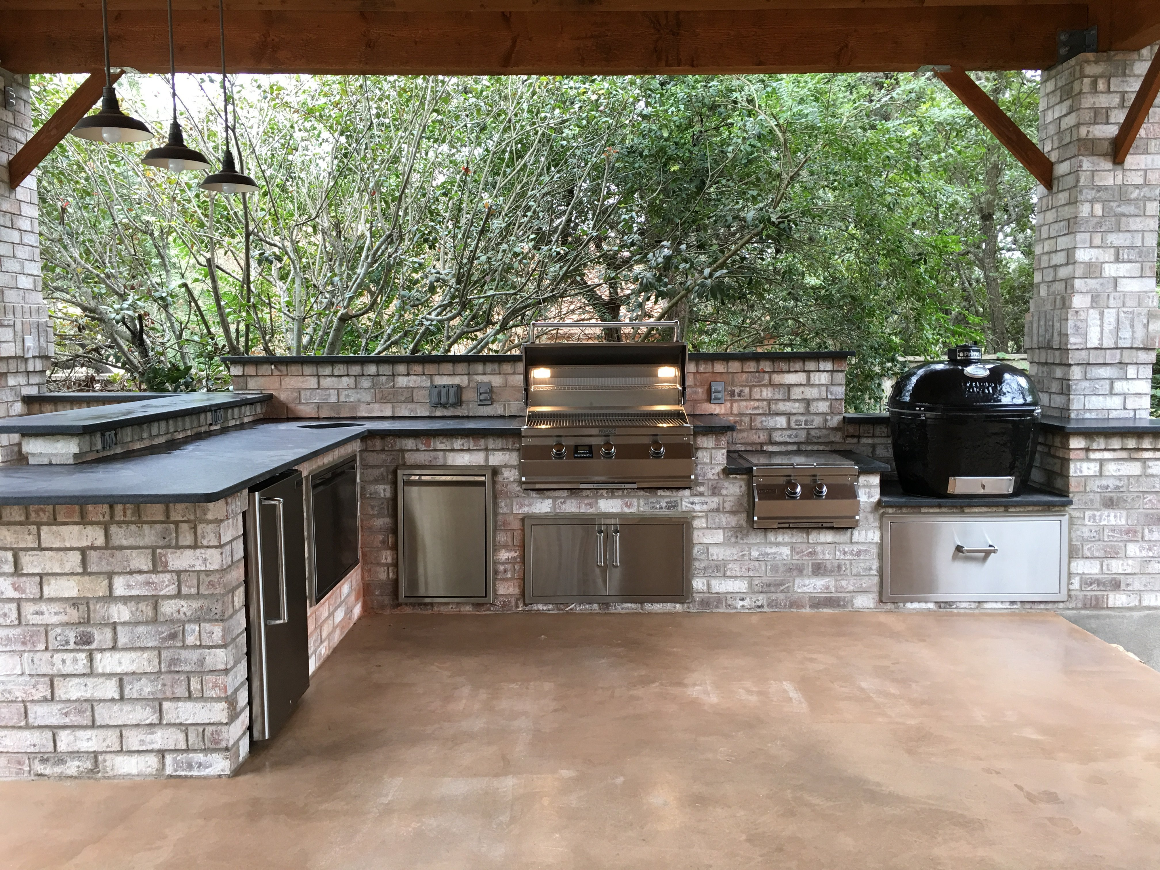 Fresh pics of wolf outdoor grill awesome lovely fireplace for Outdoor kitchen designs san antonio
