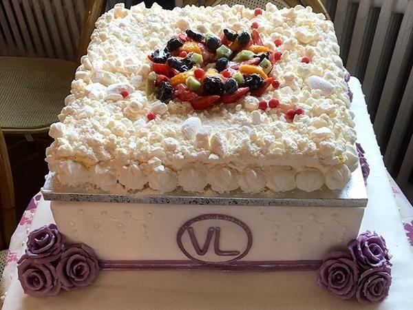 torte americane, torta per matrimonio