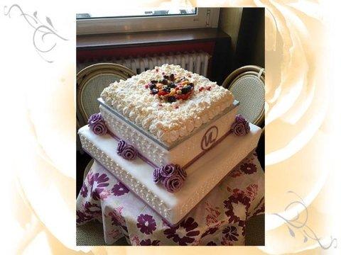 Torta a più piani, torte da cerimonia