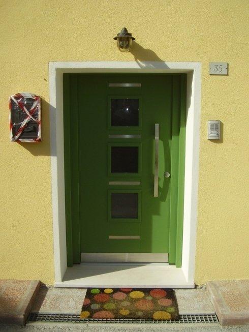 porta di ingresso laccata