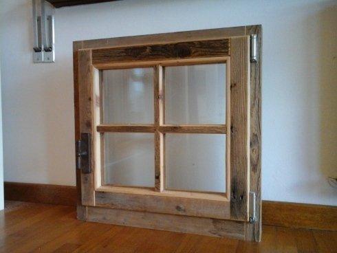 serramenti in legno vecchio