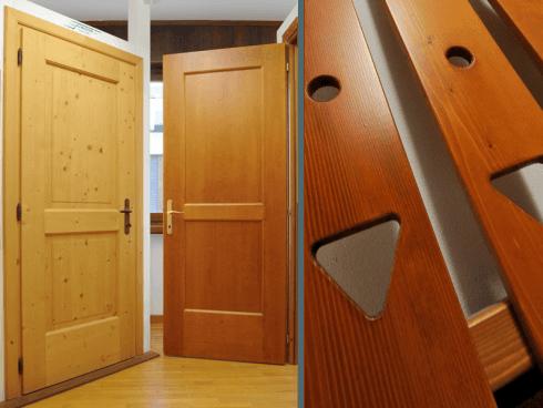 Porte e particolari in legno sono in grado di fornire un tocco di calore alla tua abitazione.