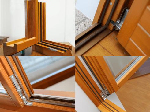 Le finestre realizzate dalla ditta Salvador sono particolarmente resistenti dal punto di vista acustico e termico.