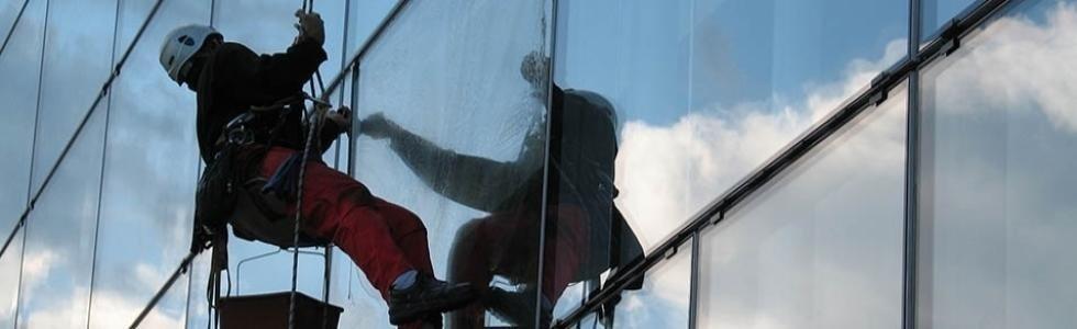 pulizie vetrate alta quota