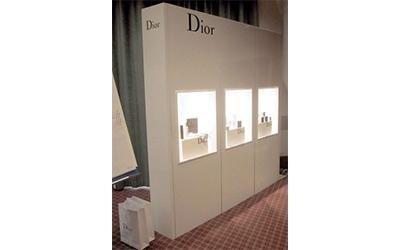 Espositore prodotti Dior