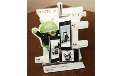 Espositore Android