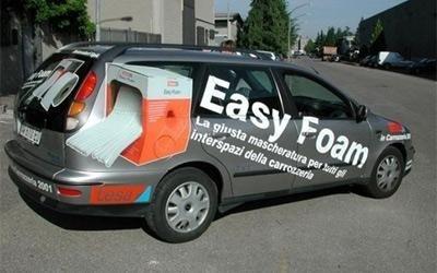 pubblicità su veicolo