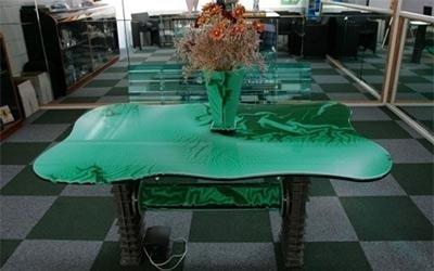 tavolino in plastica