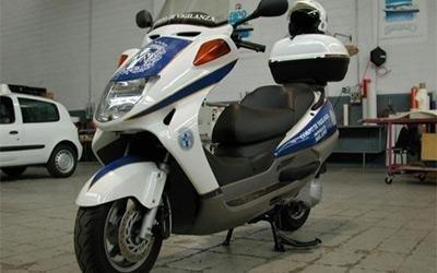 scritta scooter
