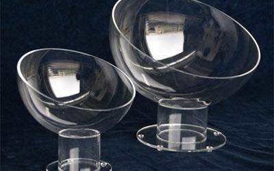 Contenitori sferici in plastica