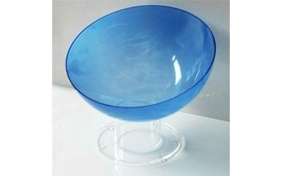 Contenitori in plastica blu
