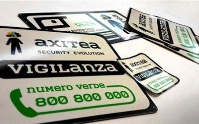 Stampa digitale adesiva