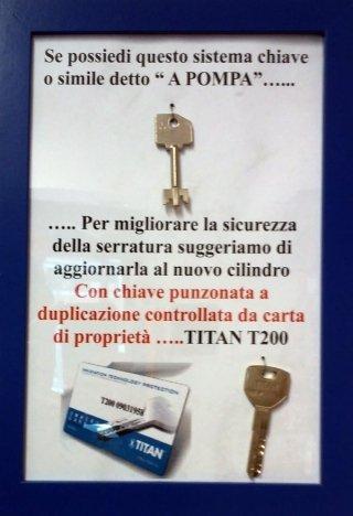 volantino promozionale titan t20