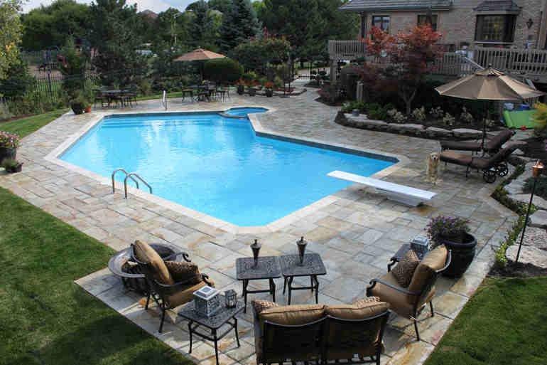 Swimming Pool Patio